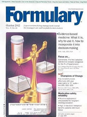 FORMULARY magazine subscription