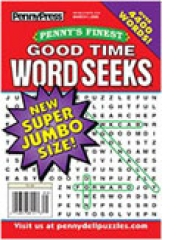 Penny's Finest Good Time Word Seeks magazine subscription