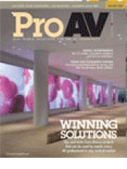 Pro AV magazine subscription