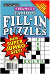 Penny's Famous Fill-In Puzzles magazine subscription