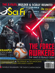 SCI-FI ENTERTAINMENT (now Sci-Fi Magazine) magazine subscription