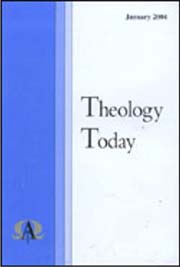 THEOLOGY TODAY magazine subscription