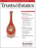 Trusts & Estates magazine subscription