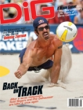 DIG BEACH VOLLEYBALL MAGAZINE magazine subscription
