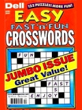 DELL'S BEST EASY FAST'N FUN CROSSWORDS magazine subscription